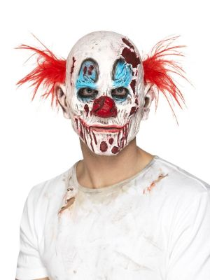 Zombie Clown Mask, Foam Latex 45021